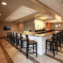 Renovated Hotel Bar & Lobby - Sage Construction