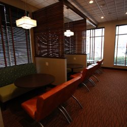 Renovated Dining Nooks in Hotel Lobby - Sage Construction