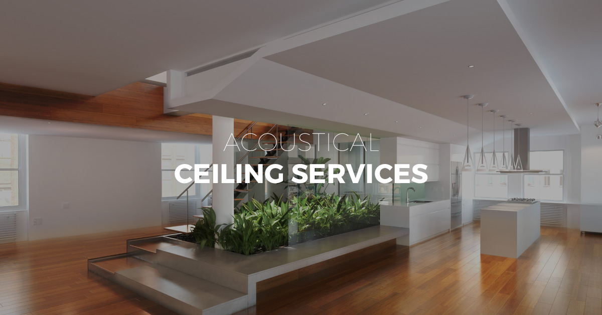 Acoustical Ceiling Installation Des Moines Contractor Ames