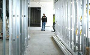 Metal Framing Construction in Progress - Sage Construction