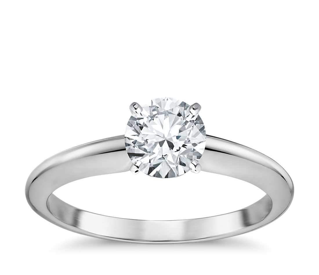 bridal prong diamond brilliant round unique rings ring engagement sylvie classic