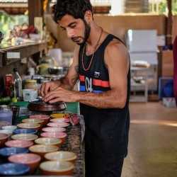 We employ true artists in the kitchens of our yoga and meditation retreat. Learn more!