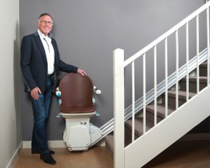 integrated safety with style stairlift