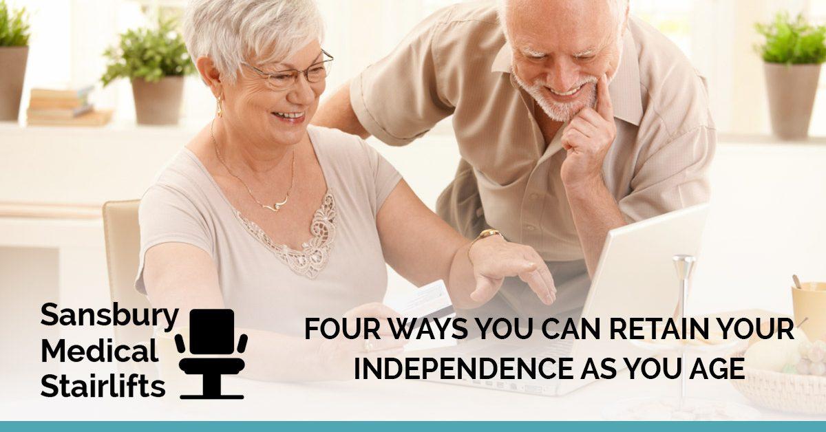 4 Ways Seniors Can Keep their Independence