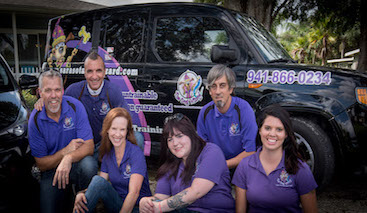 sarasota dog wizard team
