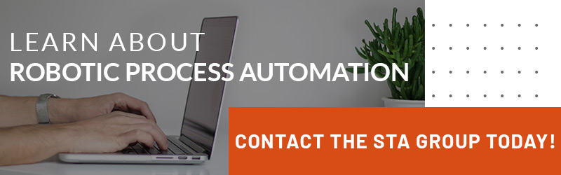 Call to action for learning about robotic process automation.