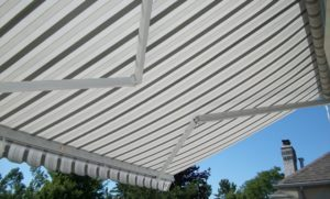 Image of a retractable awning
