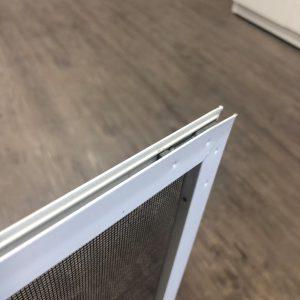 Channeled Window Screen