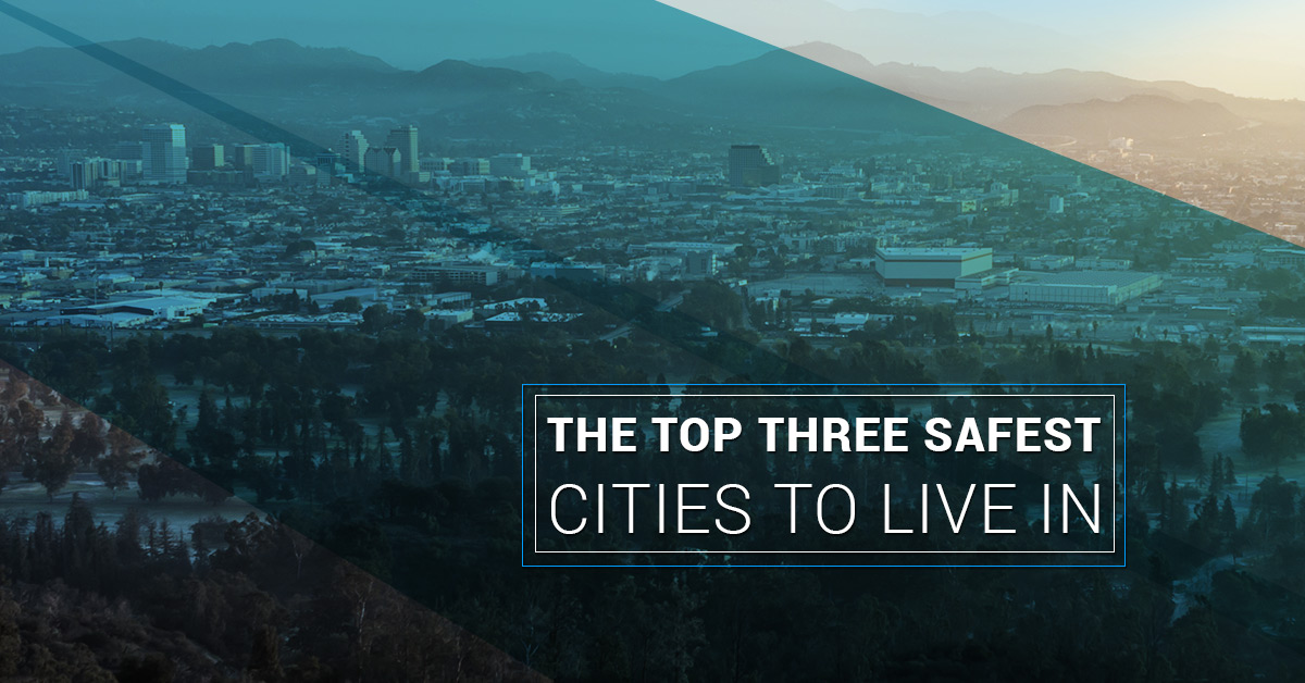 The Top Three Safest Cities To Live In