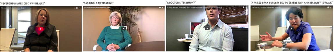spine patient testimonials