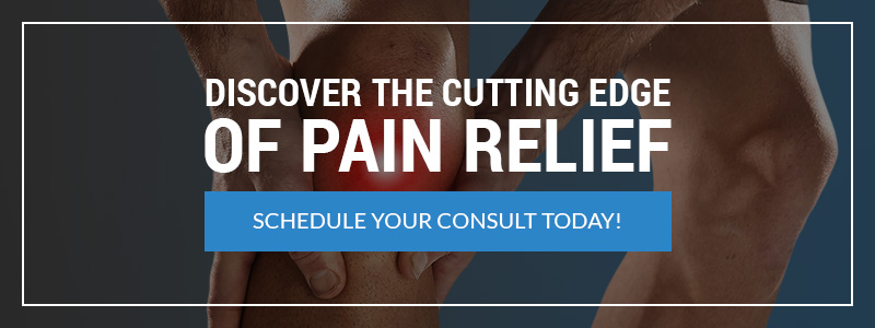discover the cutting edge of pain relief