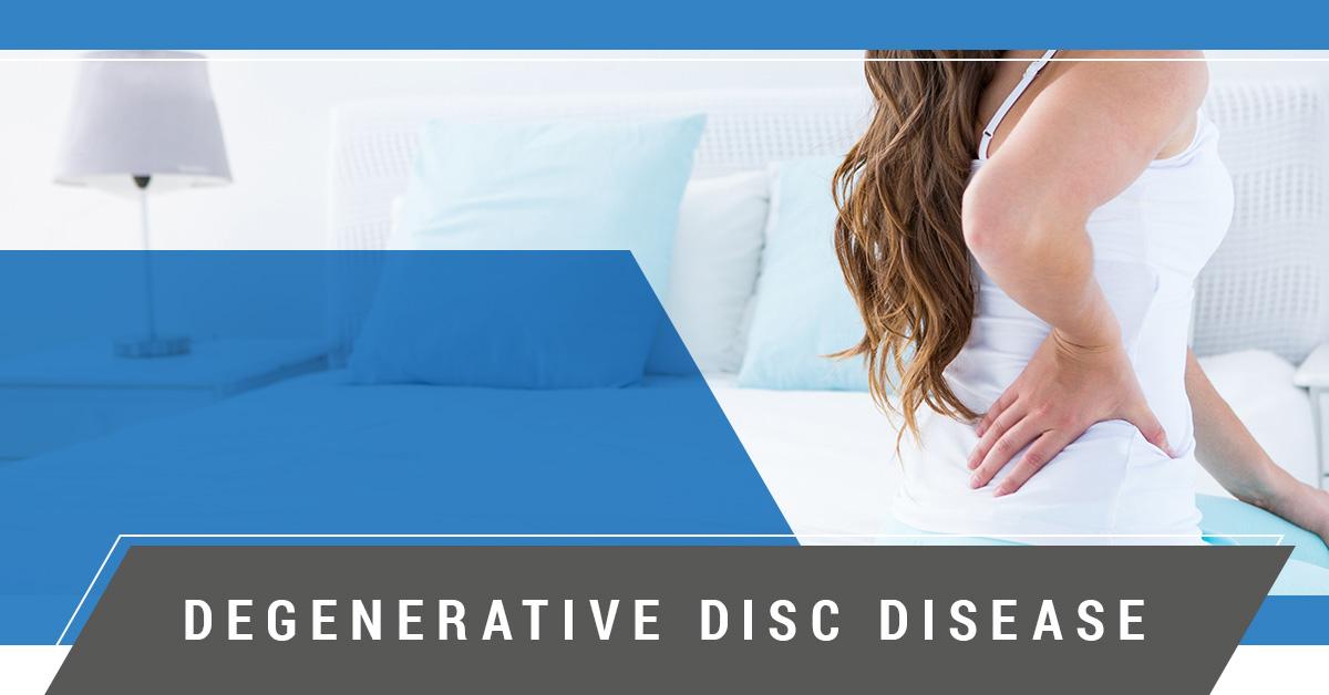 degenerative disc disease sufferer