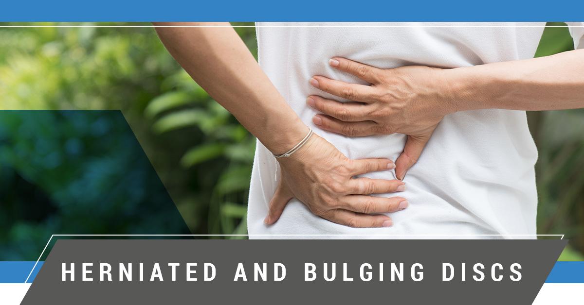 bulging disk sufferer