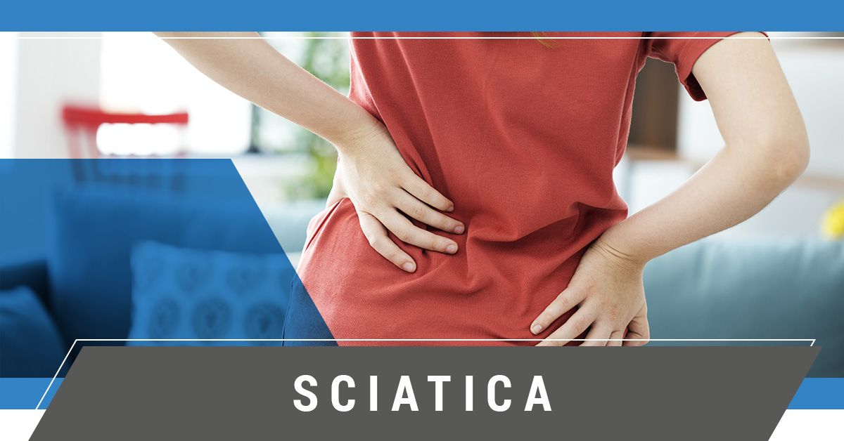 Sciatica pain sufferer
