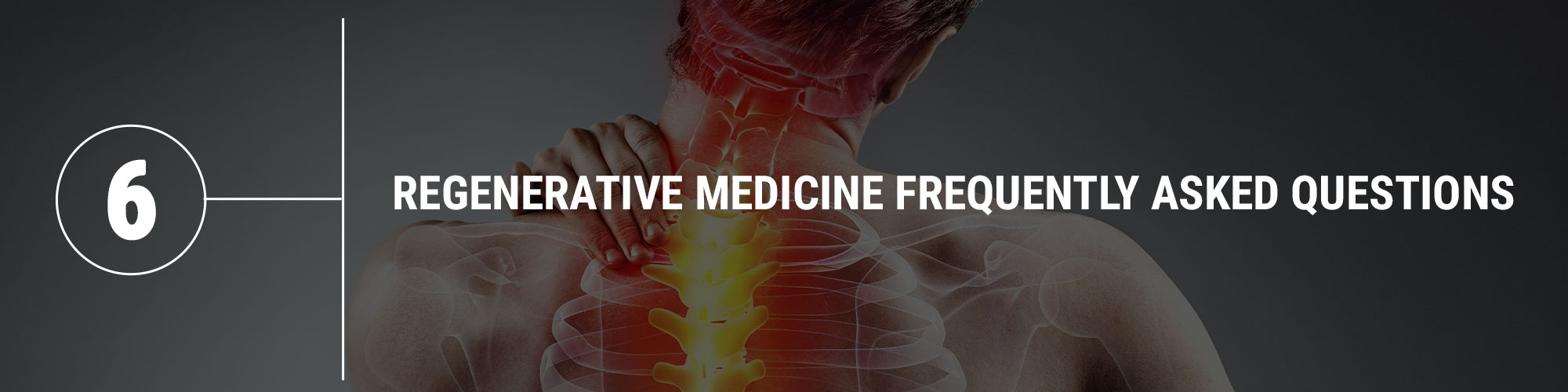 regenerative medicine frequently asked questions