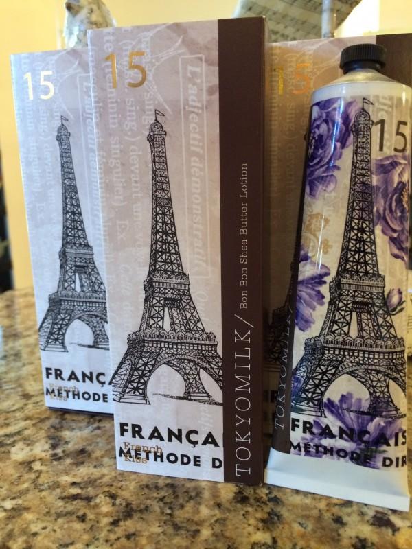 Three Frenh Kiss Handcremes