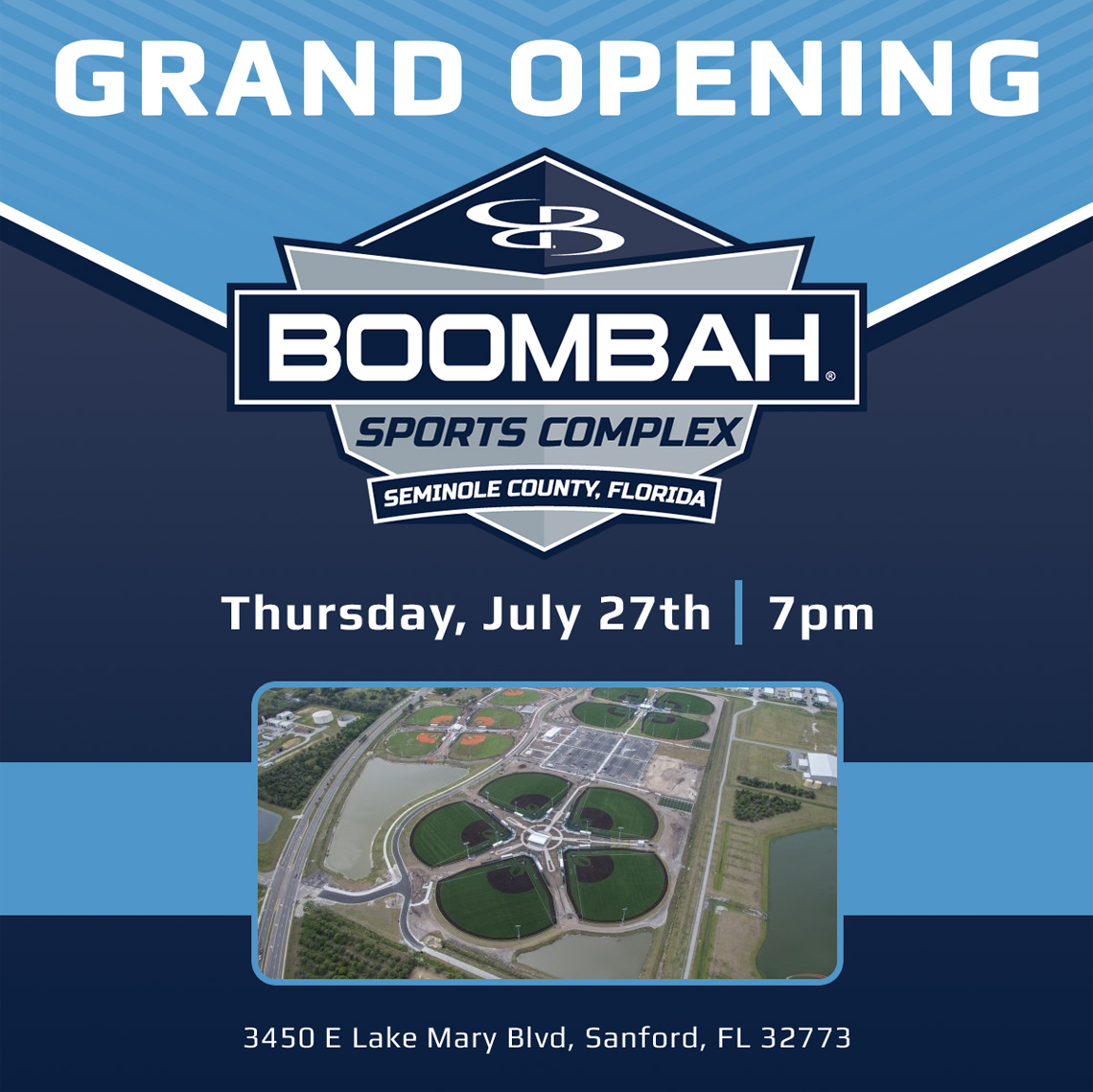 Boombah Sports Complex Grand Opening