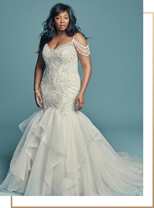 072e8f1bc9a0e Not only do we carry a wide variety of sample gowns from these designers,  we also offer styles that fit a variety of budgets, giving every bride  options and ...