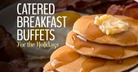 Holiday breakfast catering services