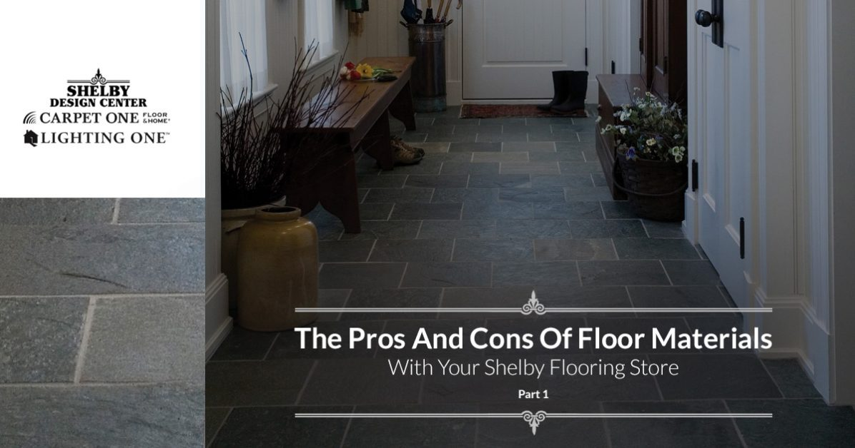 . Flooring Store Shelby  The Pros And Cons Of Modern Flooring Materials