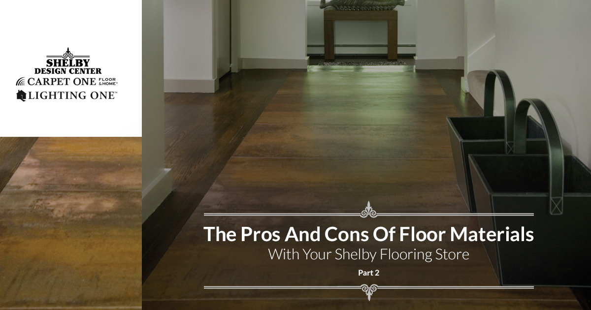 Flooring Store Shelby More Pros And Cons With Modern Home Flooring
