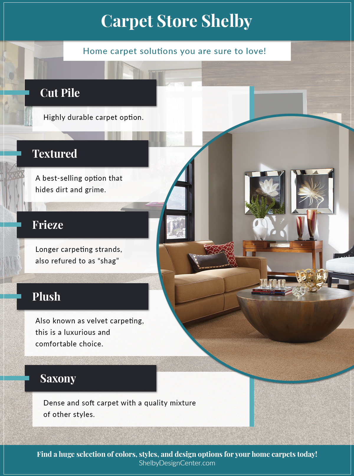 Carpet infographic