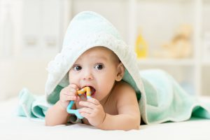 Baby's Teething Process