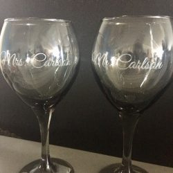 Personalized Engraved Glassware