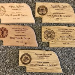 Custom Wood Engraved Plaques