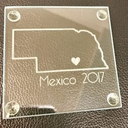 Glass Etching at Shirt Shack
