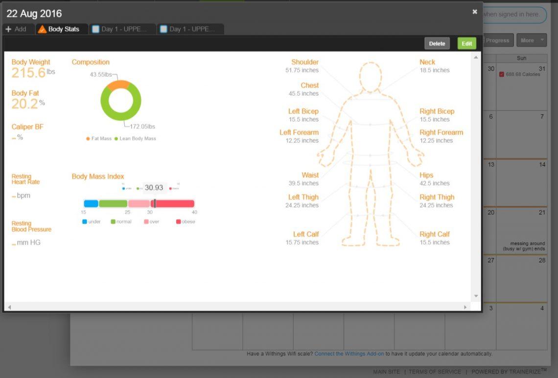 body stats chris