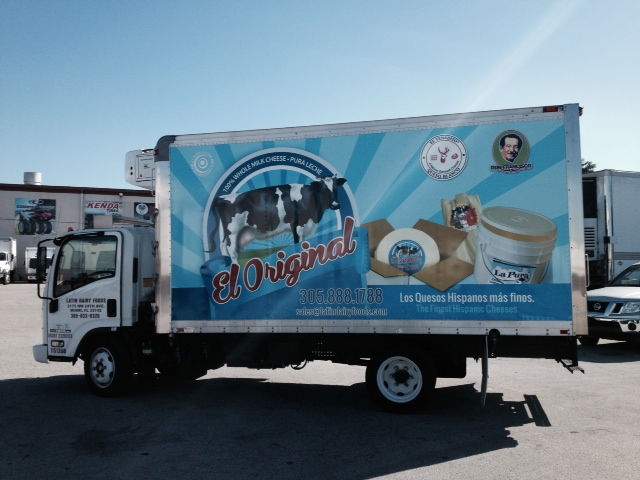 Vinyl vehicle wraps make an advertising impact!