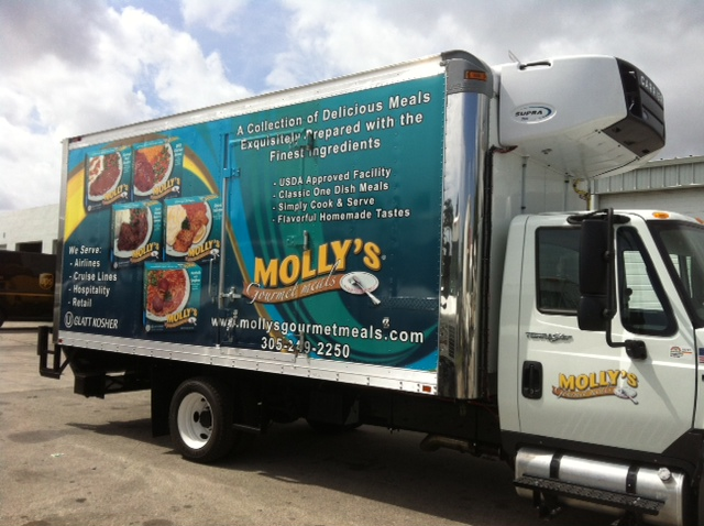 Vehicle Wraps make for effective advertising!