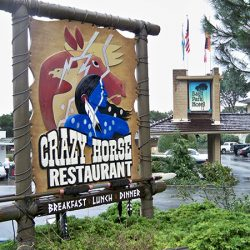 Crazy Horse Restaurant's custom sign from Signs by Van