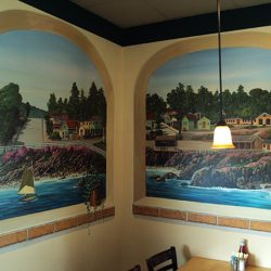 Custom wall murals of beautiful beaches