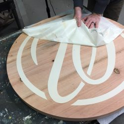 Creating a custom sign