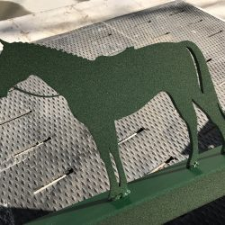 Green Horse Custom Metal Signage