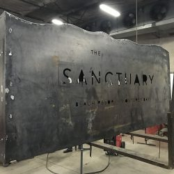The Sanctuary Custom Sign