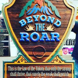 Beyond The Roar Custom Sign