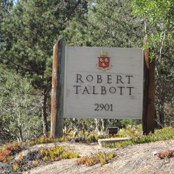 Custom business sign for Robert Talbott