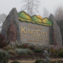 Large custom signage for King City, California