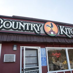 Country Kitchen custom business signage