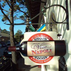 Custom business sign for Pepe's Vino Napoli