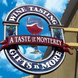 Custom sign for A Taste of Monterey