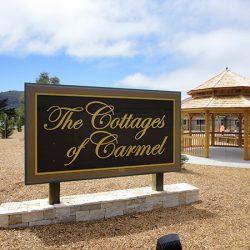 Custom business sign in Carmel, CA
