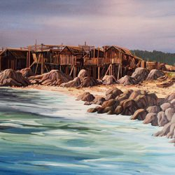 Seaside landscapes with our custom wall murals