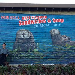 Spectacular custom wall mural for Nob Hill Foods