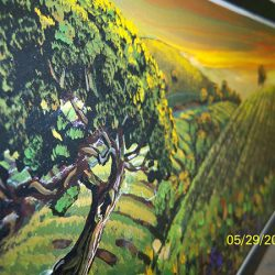 A beautiful landscape from one of our custom wall murals