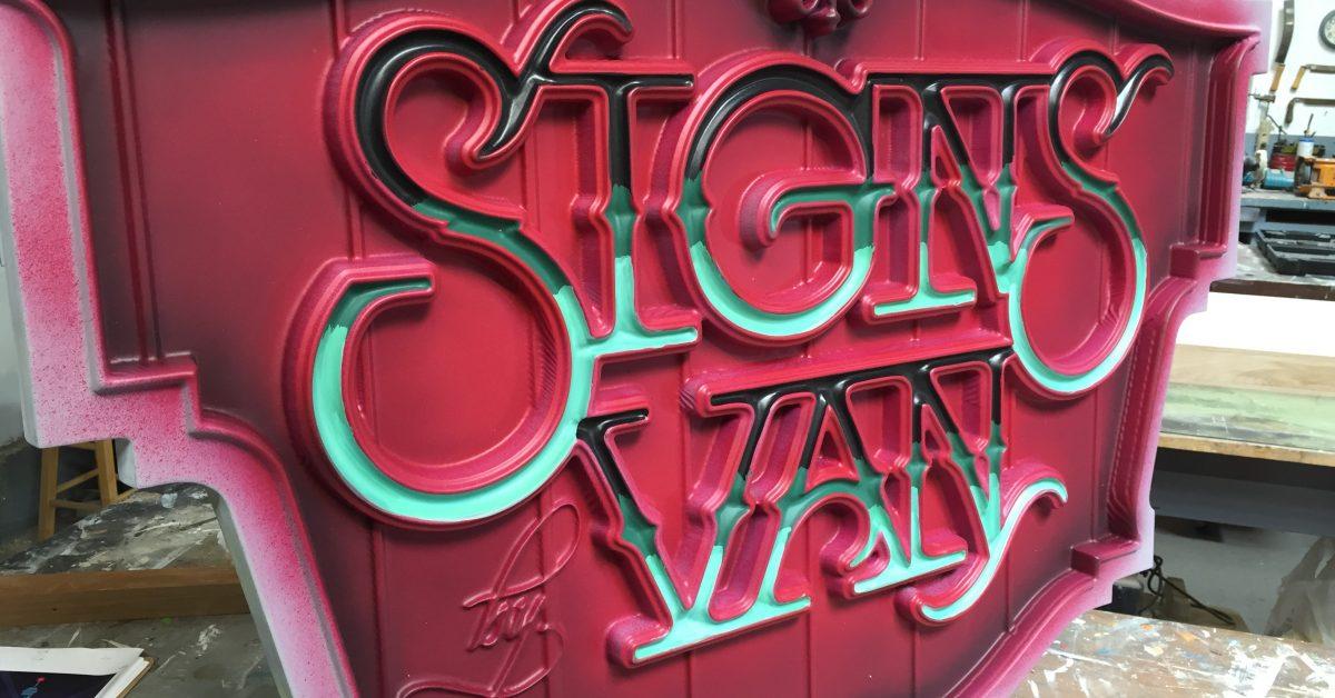 sign company monterey