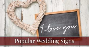 See the most popular custom wedding signs